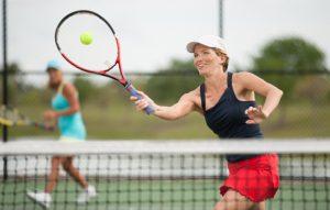 Bild Kvinna Spelar tennis