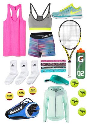 Tennis-utrustning